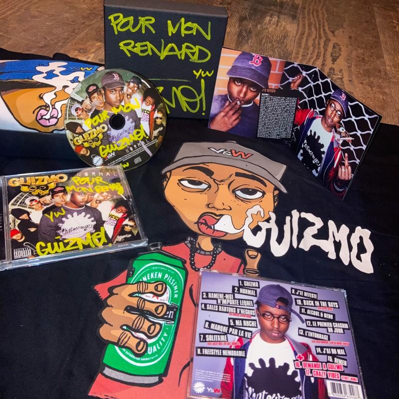 """GUIZMO """"Normal"""" 1 Album Dédicacé + 1 TShirt Collector"""